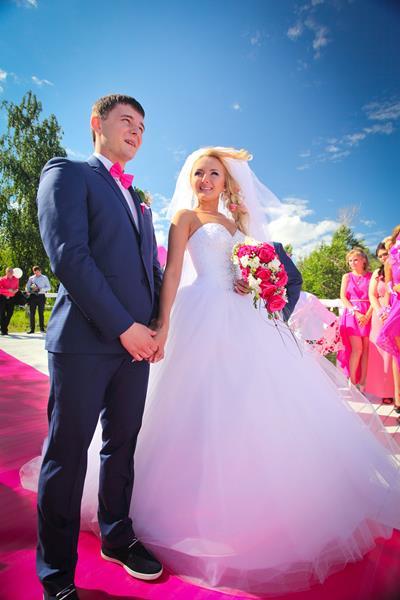 """5\""""Розовая \"""" свадьба 2014 с Резиденцией -Роман и Виктория Воробьёвы"""