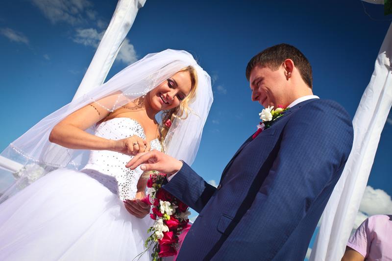 """7\""""Розовая \"""" свадьба 2014 с Резиденцией - Роман и Виктория Воробьёвы"""