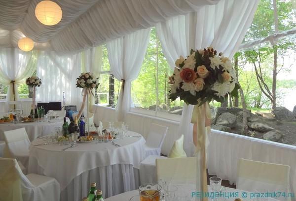 Svadba s rezidenciej na baze otdyha