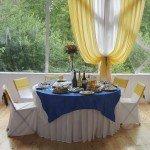 Свадьба, банкет в шатре