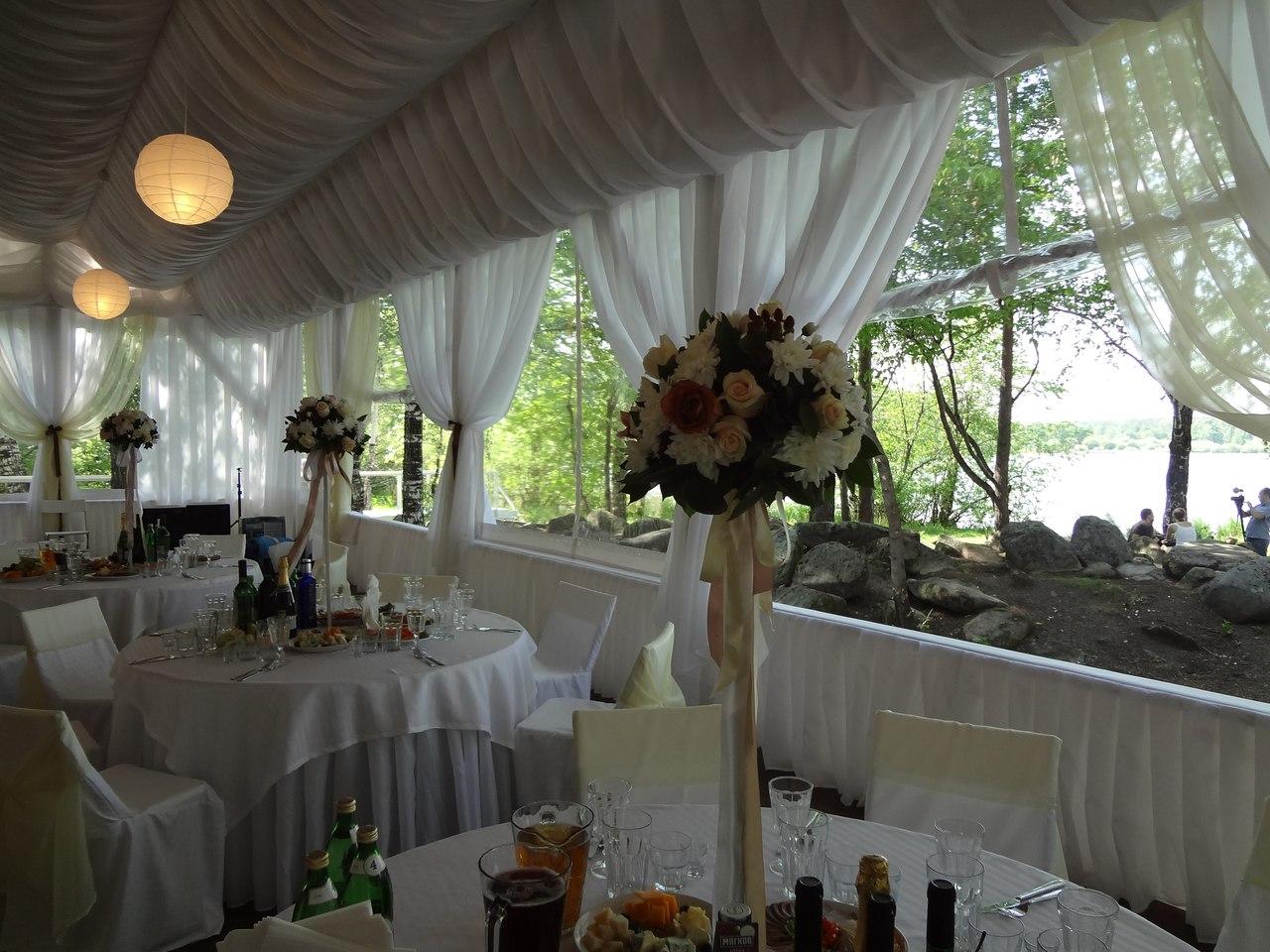 Свадебный банкет в шатре свадебная арка-шатер 1