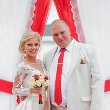 Свадьба в в стиле «Рафаэлло» Дима и Ирина Маремьянины