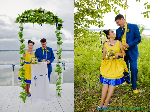 5 Jura i Olja Arnautovy. Svadba