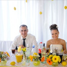 Лучшая лимонная свадьба