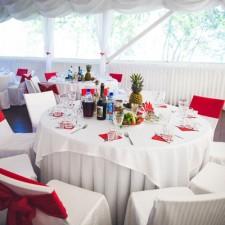 Лучшая свадьба в стиле Рафаэлло на озере Смолино