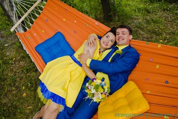 11 Jura i Olja Arnautovy. Svadba