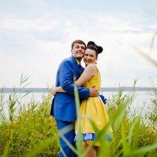14 Jura i Olja Arnautovy. Svadba