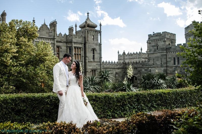 Свадьба в Крыму,  Воронцовский дворец