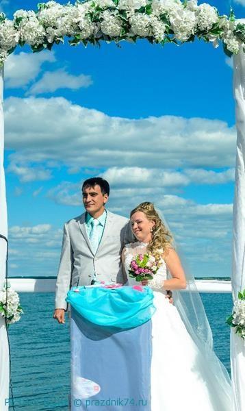 Свадьба на озере