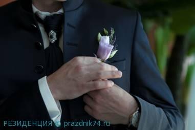 лавандовый цвет,стиль Праванс, бутоньерка