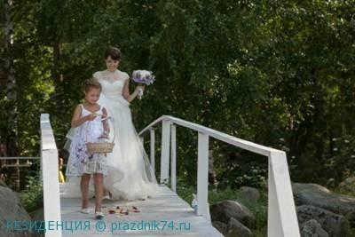 свадьба нп природе