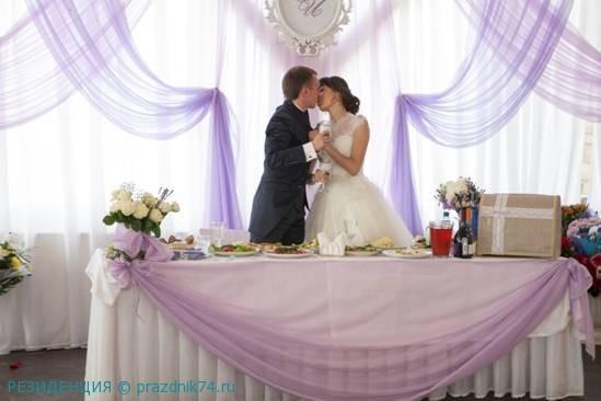 свадьба в шатре, лавандовый цвет свальбы