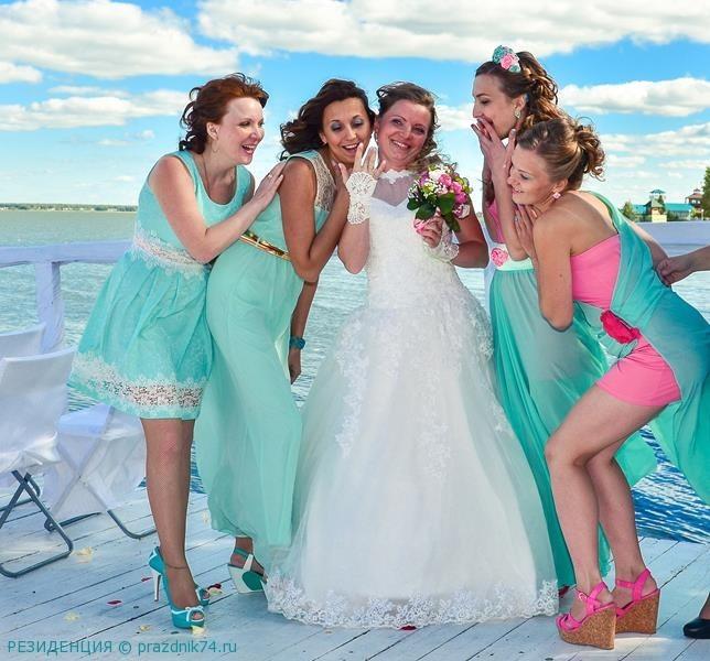 Свадьба на озере, свадьба на природе,