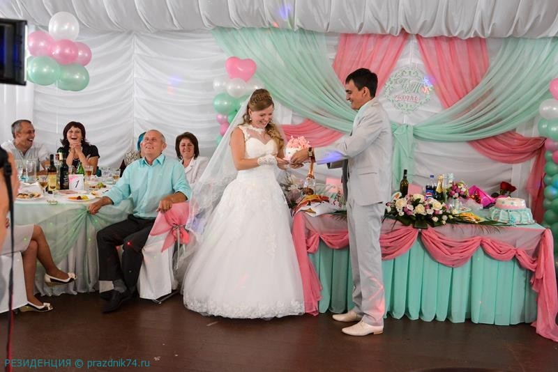 Свадьба на озере, свадьба в шатре