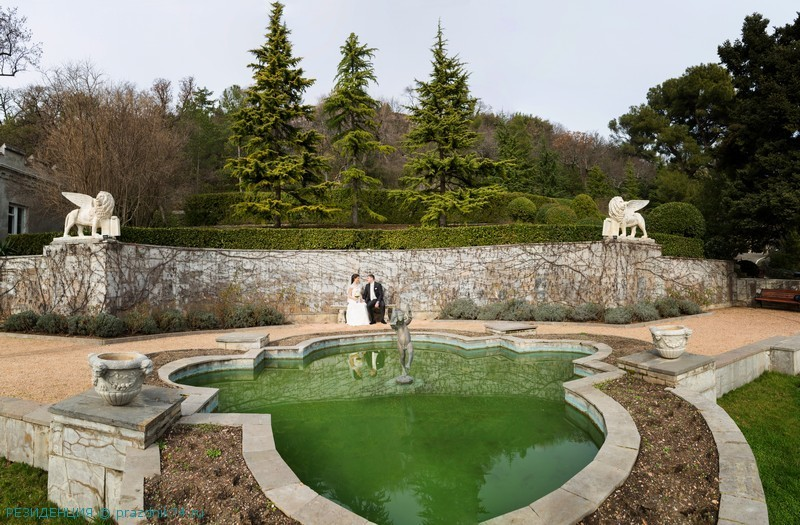 Крым свадьба Юсуповский дворец в Кореизе